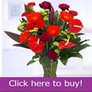 Special floral arrangement by Whitestown florist