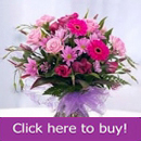 Pretty pink flower arrangement