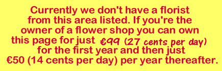 Mitchelstown florist vacancy