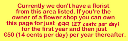 Whitestown Flower shop vacancy notice